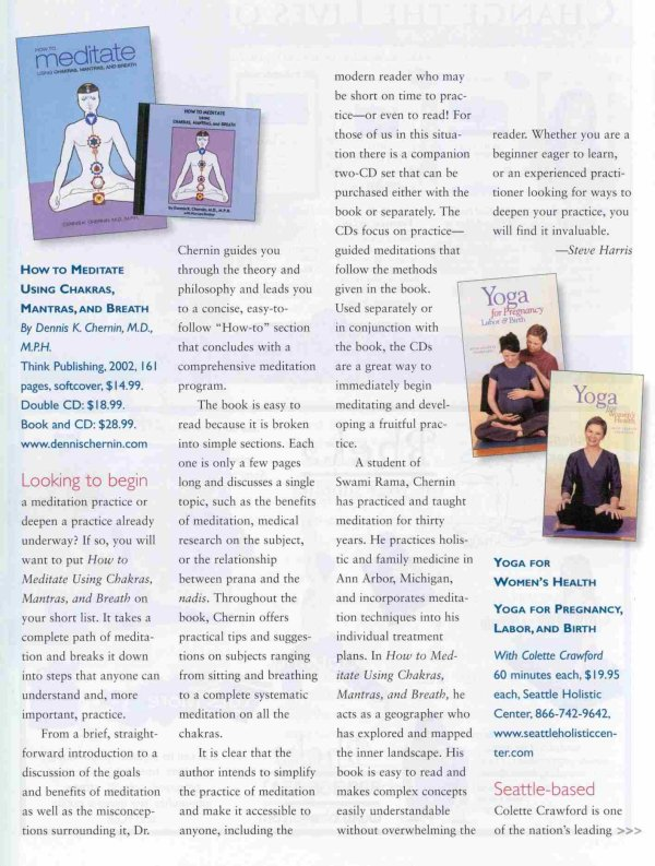 Review by Yoga International Journal